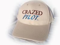 CrazedPilot.com Cap